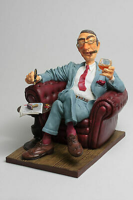 Fo85532   Figurine Metier The Big Boss  Collection Forchino Qualitee Exceptionel