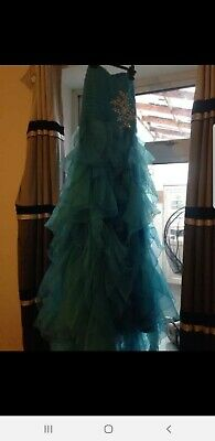 Blue Prom Dress Size 16