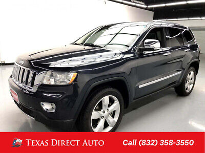 2013 Jeep Grand Cherokee Overland Texas Direct Auto 2013 Overland Used 3.6L V6 24V Automatic RWD SUV Moonroof