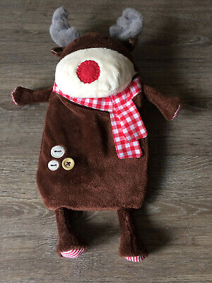 Next Hot Water Bottle with Reindeer Cover
