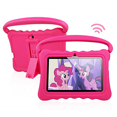 Kids Tablet PC Android 8.1 OS 7 Inch Full HD Display Tablets For Kids 1GB RAM 16