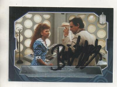 """Doctor Who Topps Trading Card No.189 Auto by Bonnie Langford """"Mel"""""""