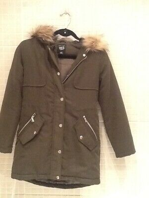 New Look 915 generation Winter Hooded Coat age 9 years