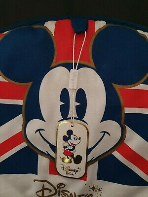Mickey Mouse Union Jack Disney store at Harrods Tea Cosy Rare Hard To Find (C10)