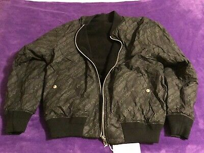Adidas Alexander Wang Sherpa Lined Black Bomber Jacket  BS2998 Men's XL