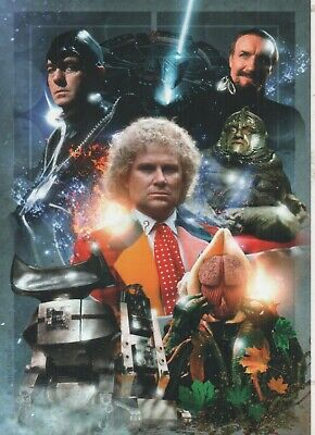 Doctor Who Fantomfilms Sixth Doctor Print