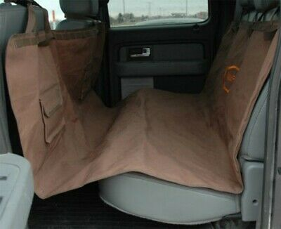 Mud River Hammock Style Seat Cover Brown and Orange Reversible