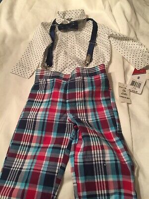 IZOD Baby Toddler Boy Polo Coverall Light Blue 0-9 MO NEW