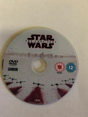 Star Wars The Last Jedi [2018][DVD Disc Only]