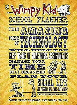 The Wimpy Kid School Planner (Diary of a Wimpy Kid), Kinney, Jeff, Used; Good Bo