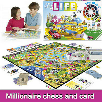 The Game of Life Board Game Fun Party Kids Family Interactive Toys Gifts UK