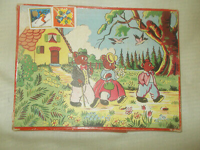 4 Vtge Embroidered Cotton Childs Handkerchiefs Boxed Chick Duck Rabbit Rooster
