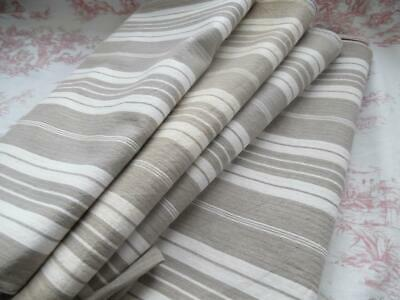 FABULOUS VINTAGE FRENCH TICKING - UNUSED- PERFECT FOR PROJECTS - 3 Metres (F)