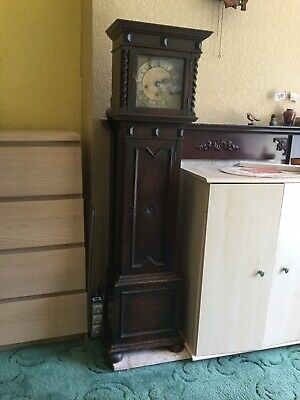 Antique Grandmother Clock Early 20th Century