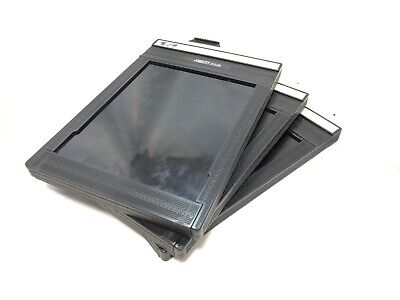 【Excellent+++】 FIDELITY Elite 4x5 Cut Sheet Film Holders lot of 3   from Japan