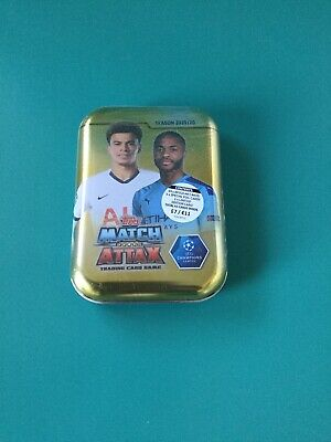 Topps Match Attax 2019/20 Champions League Football- Sealed Tin Of 45 Cards