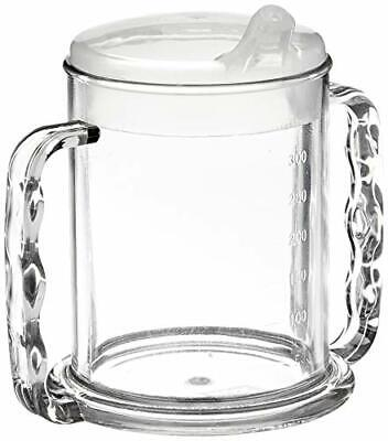 2043998-Patterson Medical Sippy Cup, 2 Henkel, trasparenti, 285 ml
