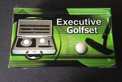 Executive Viaje Golf Set con Estuche de Metal
