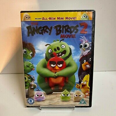 The Angry Birds 2 Movie DVD - New and Sealed Fast and Free Delivery