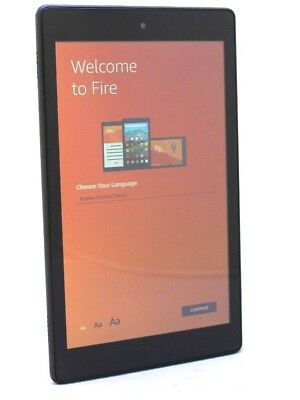 Amazon Kindle Fire HD8 8th Generation 16GB - Black  45-2B