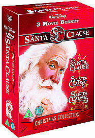 The Santa Clause Movie Collection   DVD   Brand new and sealed
