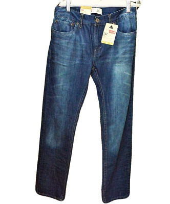 NEW Levis 511 Boys 18 Reg Jeans Slim Fit Tapered Leg Sits Below Waist 29X29