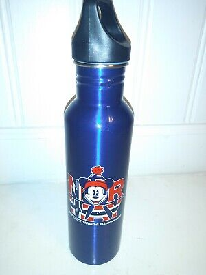Disney Parks NORWAY . WORLD SHOW CASE Stainless Steel Water Bottle New