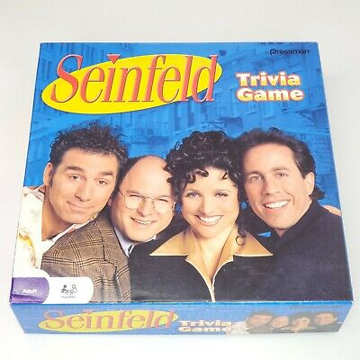 Seinfeld TV Show Trivia Game 2009 Pressman Used Excellent Condition COMPLETE