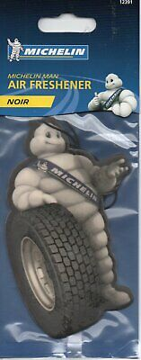 Michelin Man - Car Air Freshener - Noir       *New And Sealed*