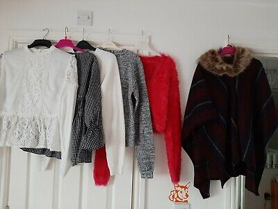 Girls Clothes Bundle Age 14  - New Without Tags & Used Only Worn One. 6 Items