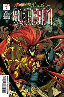 Absolute Carnage Scream #2 (of 3) Marvel 2019 NOT VARIANT