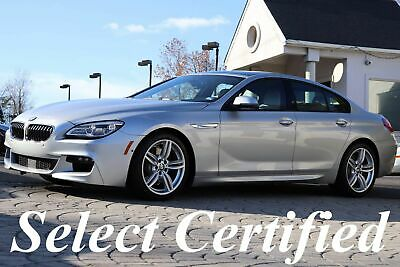 2017 BMW 6-Series 640i Gran Coupe M Sport Edition 2017 640i GranCoupe M Sport Edition Original MSRP $91,875 Silver ONLY 12K MILES