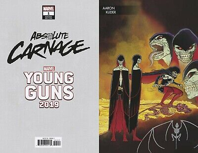 Absolute Carnage #1 (of 5) Marvel Comics 2019 Young Guns Variant