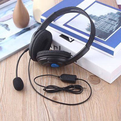 Wired Gaming Headset Headphones with Microphone for Sony PS4 PlayStation 4 Kj