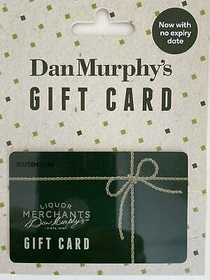Two New Dan Murphys Gift Cards worth $250
