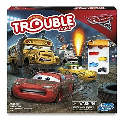 Cars 3 Trouble Board Game - Games & Accessories