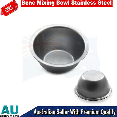 Dental Surgical Implant Bone Mixing Bowl Medicine Cups Stainless Steel New CE