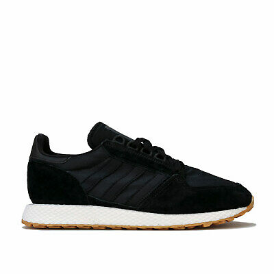 Mens adidas Originals Forest Grove Trainers In Core Black / Gum3