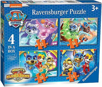 03029 Paw Patrol: 4 Puzzles in a box-12/16/20/24 Teile