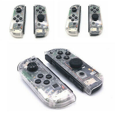 Clear Replacement Housing Case Cover Shell for NS Switch Controller Joy-Con