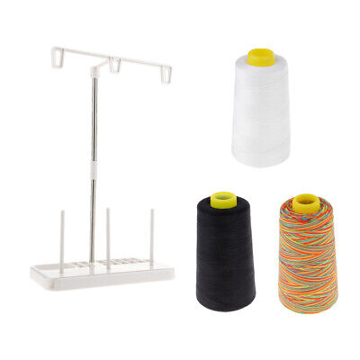 Thread Stand-3 Spools Sewing Machine or Serger Thread Holder-Best Sewing LC