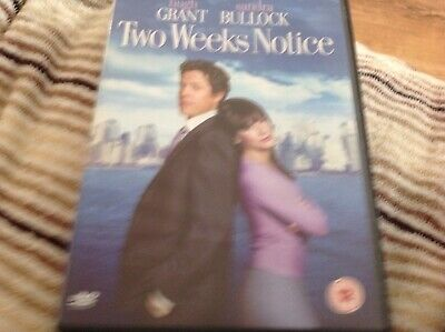 Two Weeks Notice (DVD, 2003)