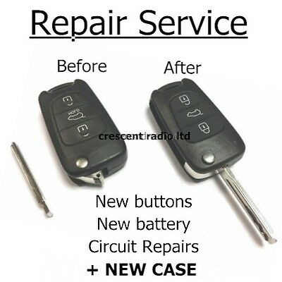 Hyundai Remote Key Fob Repair . Same Day Service. Trusted Repairer 100% F/Back