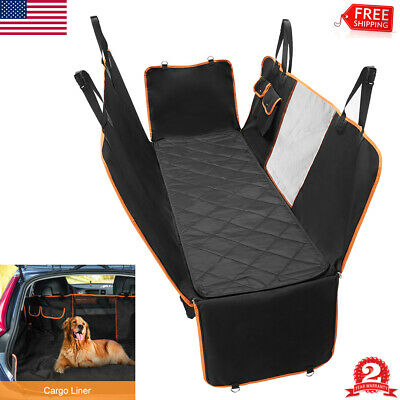 Pet Car Seat Cover for Dogs Back Rear Hammock Protector Mat Truck SUV Waterproof
