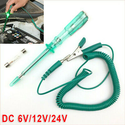 Green Circuit Tester Fuse Voltage Test Light Probe Pen Pencil Kit For Car Truck