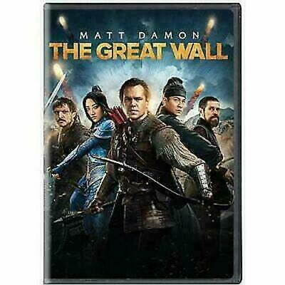 The Great Wall (DVD, 2017) BRAND NEW SEALED