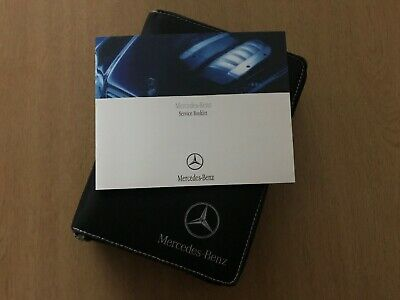 Mercedes Service History Book, Brand New & Genuine, Not Duplicate, Amg C Class