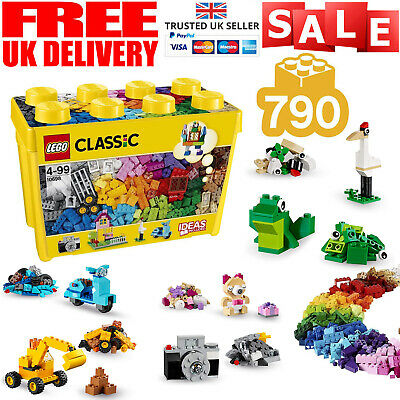 LEGO 10715 Classic Bricks On A Roll Construction Set Building Playset 790 Pieces