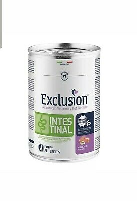 EXCLUSION DIET INTESTINAL PUPPY PORK AND RICE 400 GR x 12