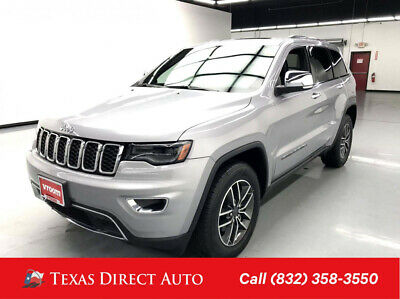 2019 Jeep Grand Cherokee Limited Texas Direct Auto 2019 Limited Used 3.6L V6 24V Automatic RWD SUV